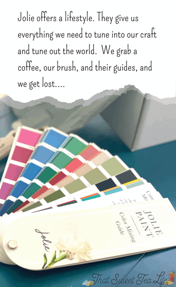 Jolie Paints Color Mixing Guide
