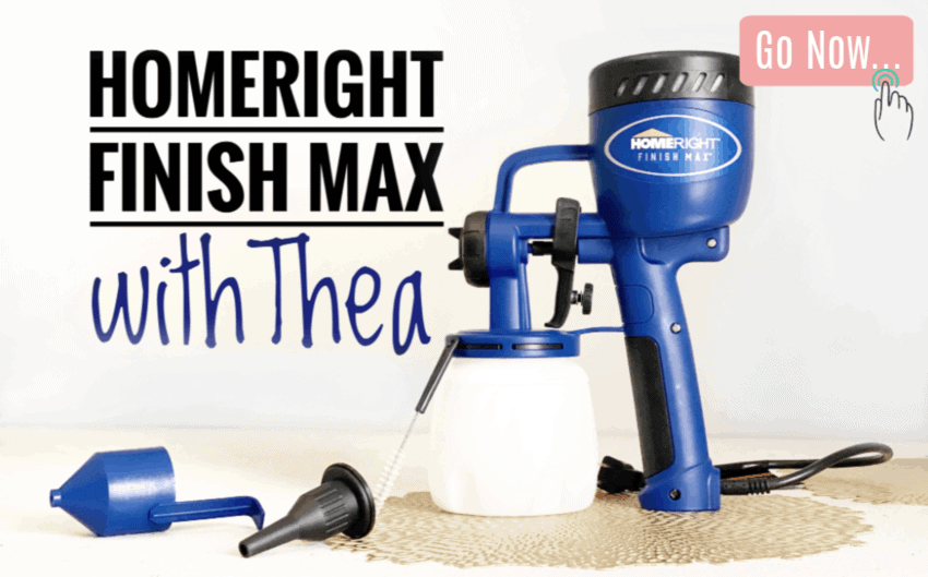 How to use the Homeright Finish Max