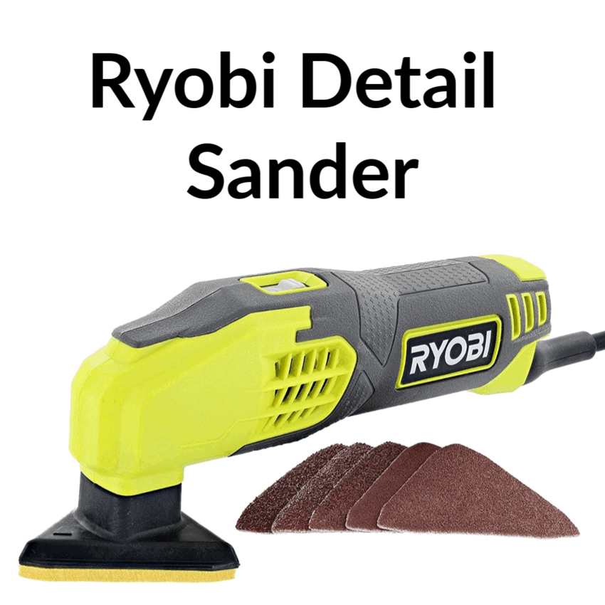 Detail Sander for hobbyist to be used along with the Dewalt Orbital Sander