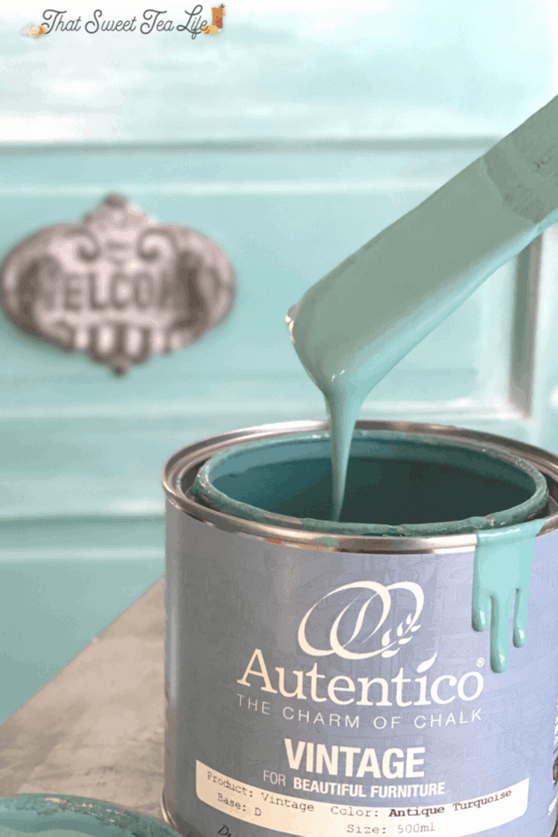 Autentico Vintage Paint: Antique Turquoise