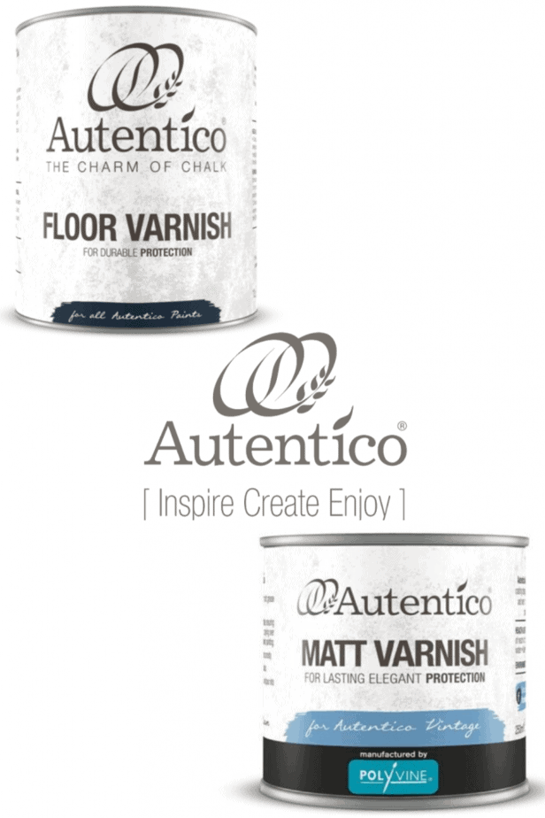 Autentico Top Coats for Painted Furniture