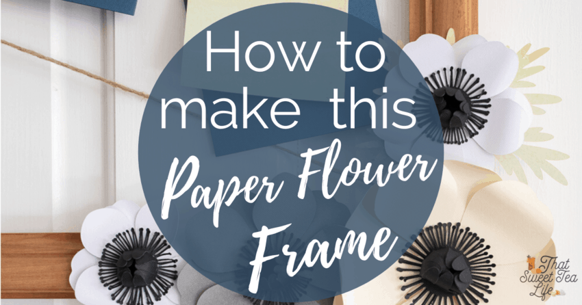 How To Make A Wood Sign With Flowers