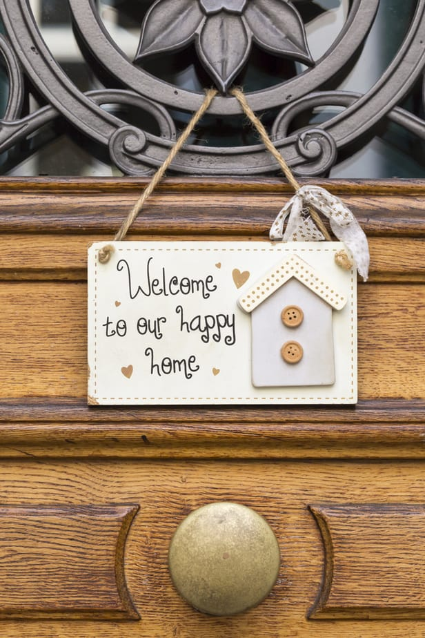 19 Awesome Welcome to our Home Signs