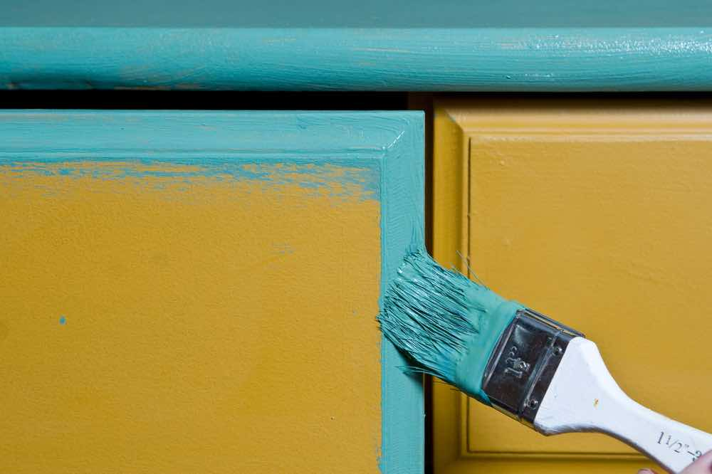 Using the best paint for furniture on outdoor pieces is an easy way to upgrade your whole backyard or porch on a budget.