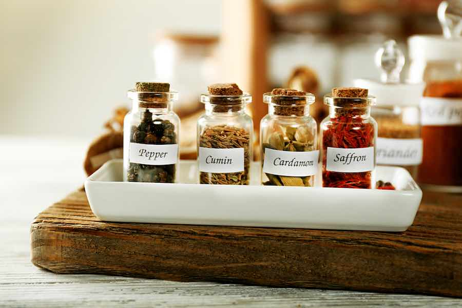 DIY Spice Containers