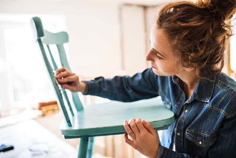 Painting a Chair