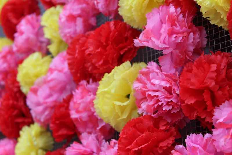 Tissue Paper Crafts - Flowers