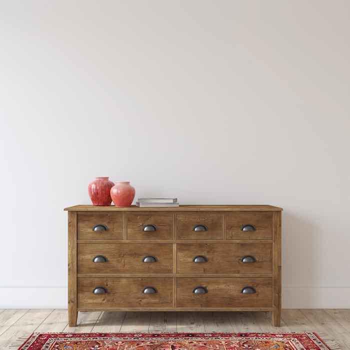Wooden Farmhouse Dresser